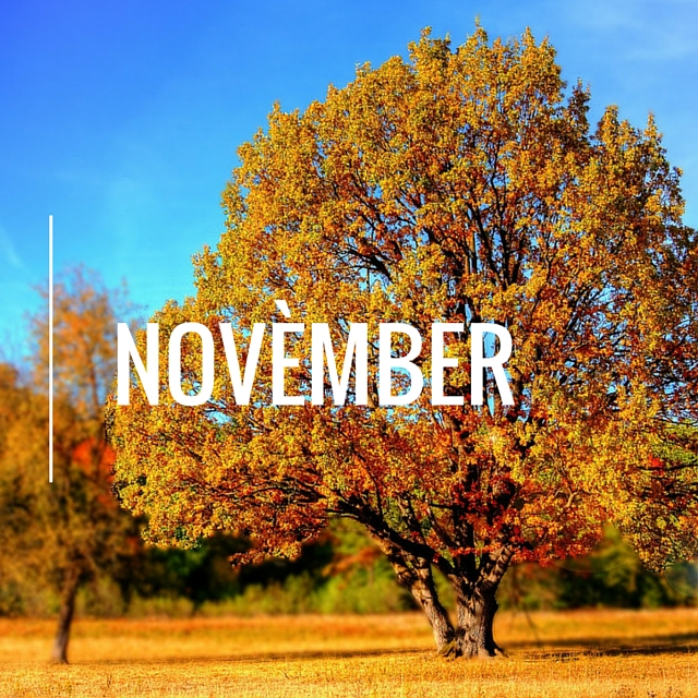 november in het papiaments