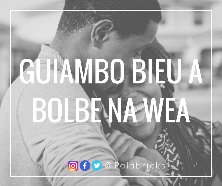 GUIAMBO BIEU A BOLBE NA WEA PAPIAMENTS