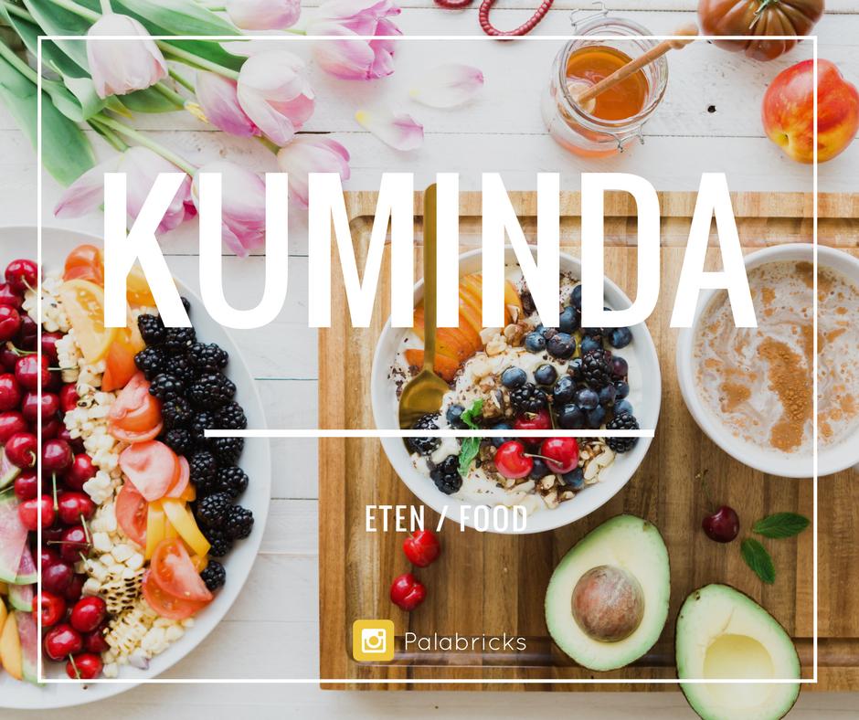 eten en drinken papiaments kuminda