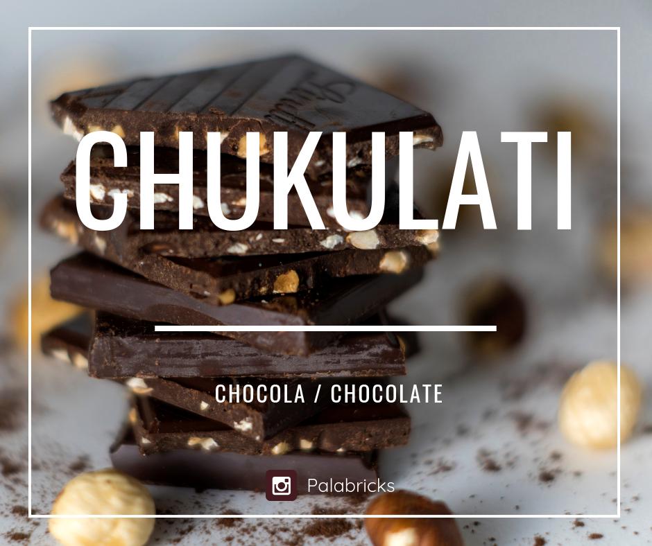 chukulati chocola papiamentu